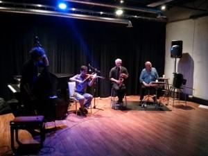 Chris Adriaanse, Kousha Nakhaei, John Oswald and John Kamevaar