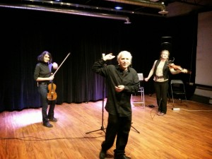 Parmela Attariwala (violin) + Adele Armin (violin) with Adam Rosen