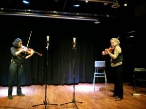 Parmela Attariwala (violin) + Adele Armin (violin)