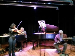 Parmela Attariwala (violin) + Jeff Burke (bassoon, theremin) + Casey Sokol (piano)